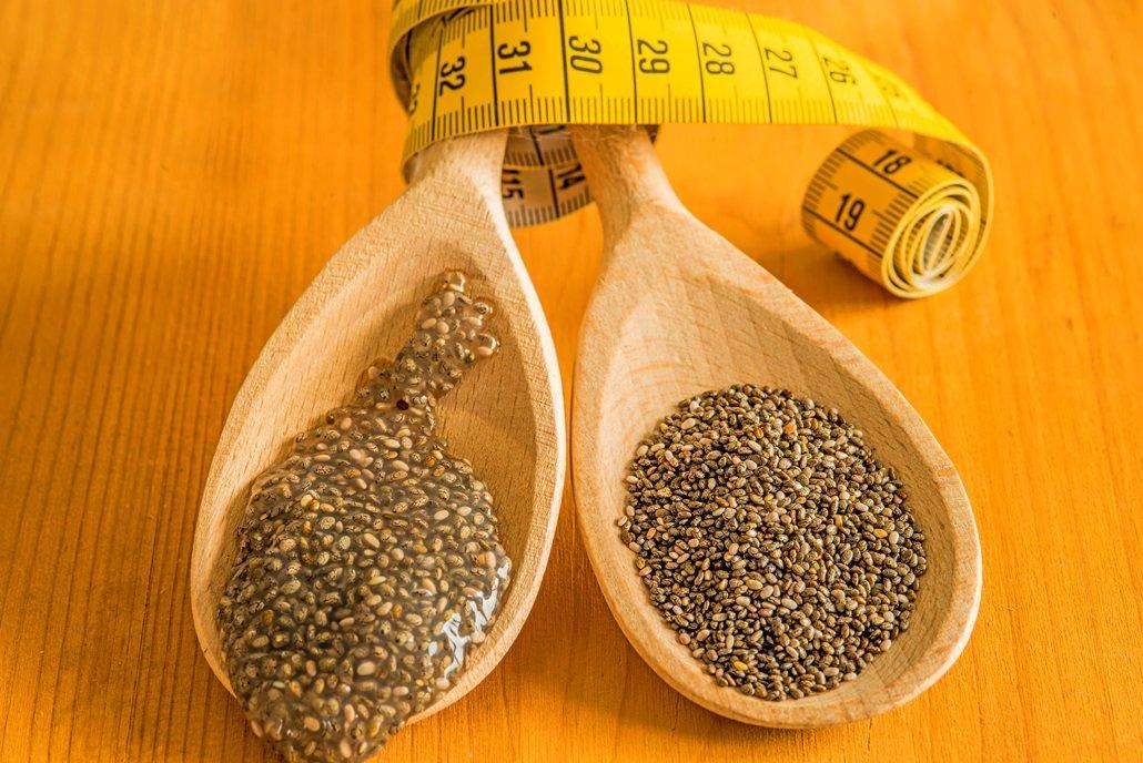 Chia-Samen - ideal zum abnehmen / während der Diät