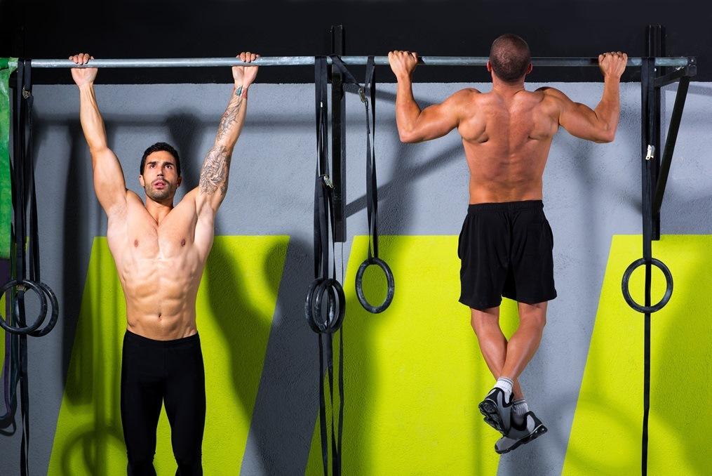 Klimmzüge bei CrossFit