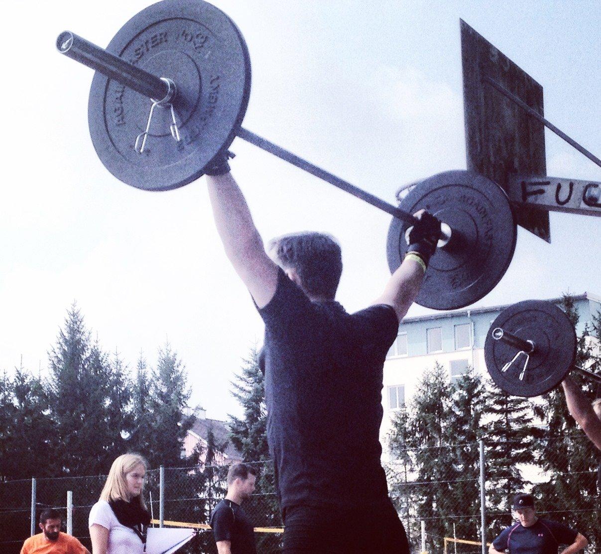 Clean & Jerk CrossFit Challenge (Foto: sportup.de)