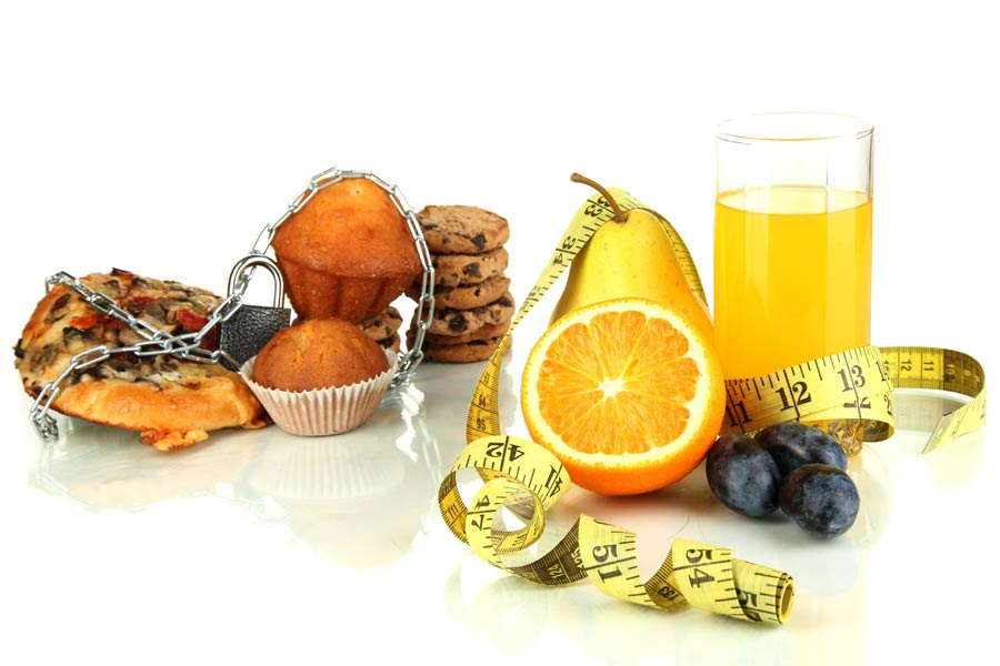 Gesundes Essen ist wichtig für den Stoffwechsel