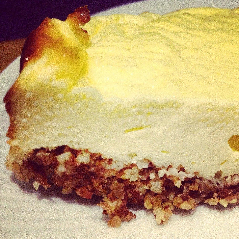 Rezept für einen Low Carb Käsekuchen mit viel Protein