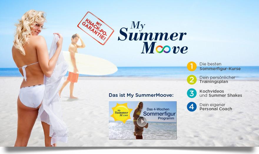 Das My Summer Moove Programm von NewMoove