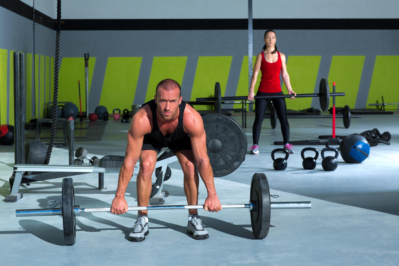 CrossFit Übung: Thrusters