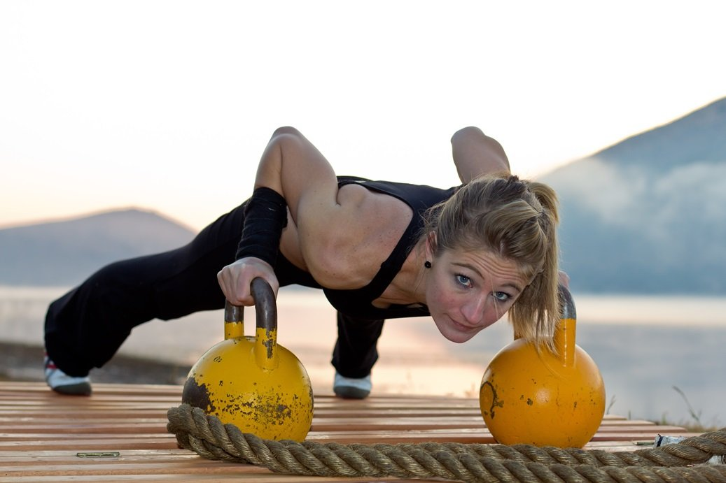 Funktionelles Training mit Kettlebells