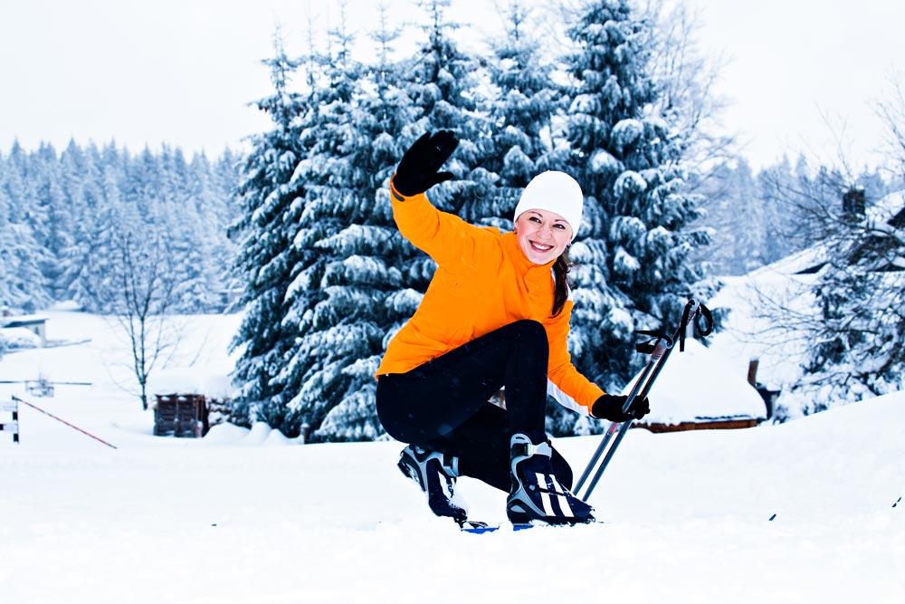 Skifahren - Skigymnastik