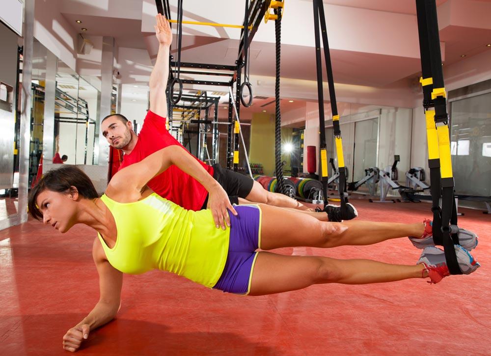 TRX Übungen und Training