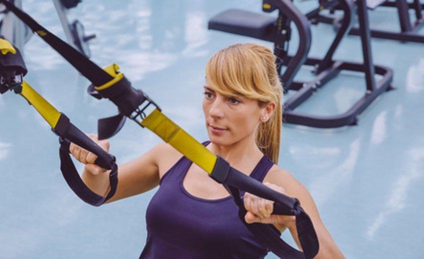 TRX-Übungen für den Muskelaufbau