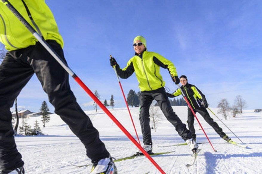 Fit durch Skilanglauf