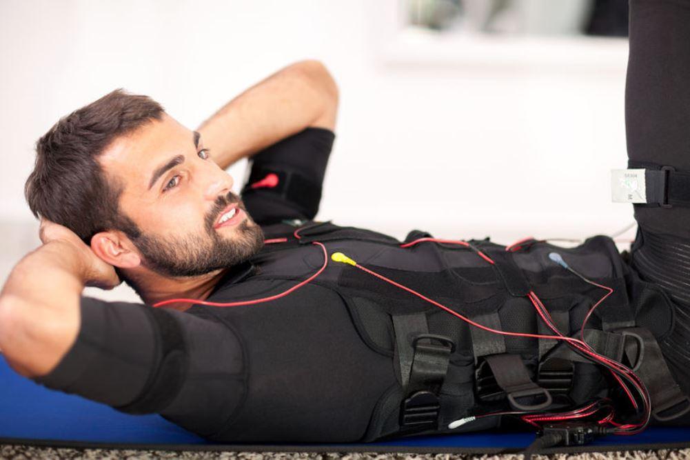 EMS Training im liegen