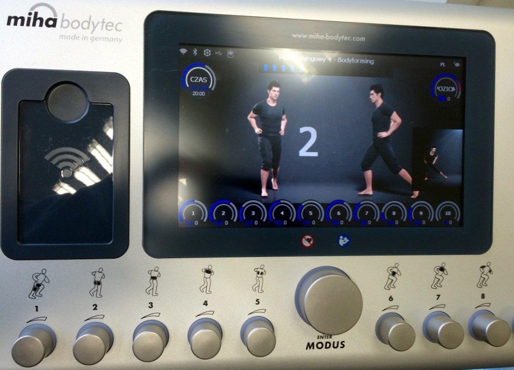 EMS Trainingsgerät von miha bodytec