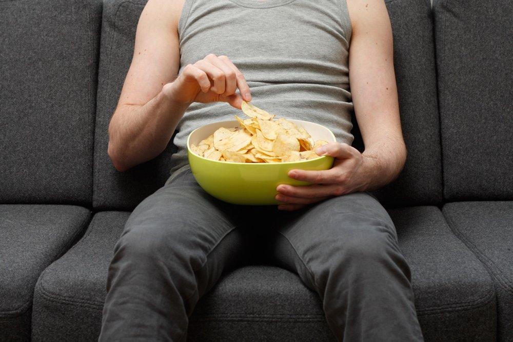 Chips zum Fußball